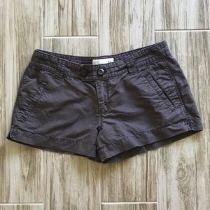 Linen-blend Old Navy low-rise brown shorts EUC